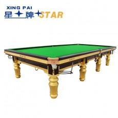 星牌STAR 英式斯诺克台球桌 标准尺寸桌球台 XW101-12S世锦赛台