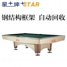 星牌STAR台球桌花式九球台球桌 标准尺寸桌球台 XW138-9B全套配置