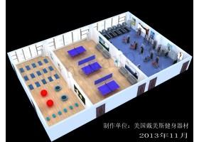 新开普健身房