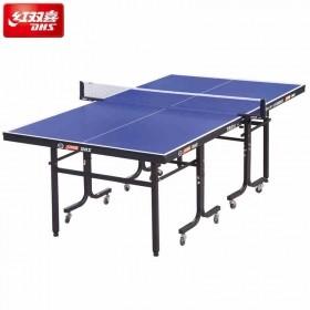 DHS/红双喜TM818乒乓球台 乒乓球桌 带脚轮环保家庭健身娱乐