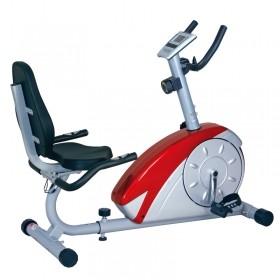 康乐佳KLJ-6.3R-1卧式靠背磁控健身车 家用健身器材 康复车