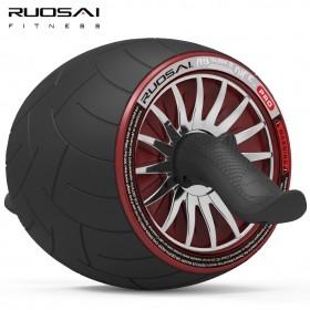 RUOSAI若赛 101健腹轮腹肌轮巨轮收腹滚轮自动回弹健腹器静音健身轮