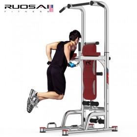 美国RUOSAI若赛800引体向上器室内单杠家用多功能单双杠训练健身器材