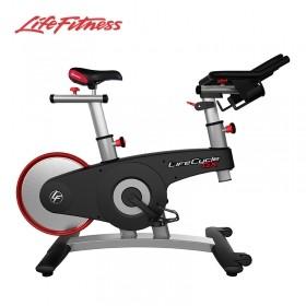 LifeFitness/力健进口直立式动感单车家用超静音减肥器自行车GX 双磁力阻力制动系统 多楔带传动