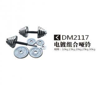 DM2117电镀杠铃