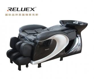 英国RELUEX瑞莱克斯M03发廊美发店智能按摩洗头床带盆躺式全身按摩敲打揉捏