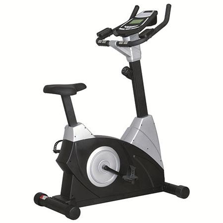 康乐佳9.5立式健身车商用磁控电控健身房器材动感单车健身自行车
