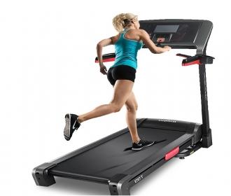 乔山T99电动威廉希尔最新网址家用折叠静音彩屏WiFi室内运动健身器材