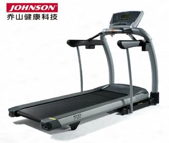 美国乔山TF20静音器械威廉希尔最新网址免维护加厚跑板轻商用健身器材家用