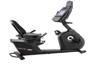 美国sole速尔R92L进口卧式健身车家用磁控老人腿部康复训练器材