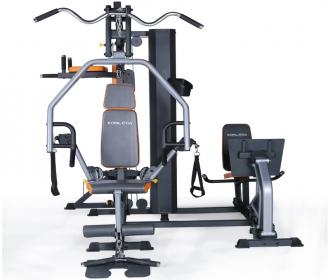 康乐佳K3003C综合训练器三人站大型器械力量训练多功能组合健身器