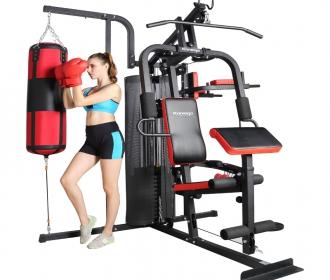 康乐佳K3003B综合训练器家用组合套装力量器械多功能运动健身器材