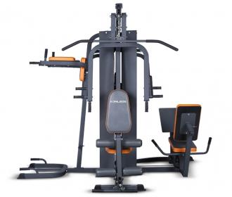 康乐佳K3004B综合训练器五人站商用健身房多功能组合器健身房专用