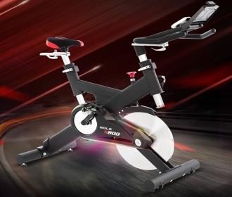 美国sole速尔S800进口动感单车家用磁控静音室内自行车商用健身房